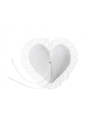 Poduszka pod obrączki Serce