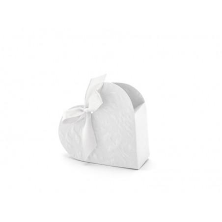 Tłoczone pudełko serce