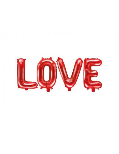 Zestaw balonów literek 35cm - LOVE
