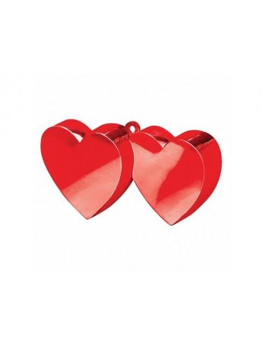 Obciążnik do balonów Dwa serca