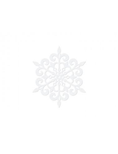 Dekoracje papierowe Śnieżynki