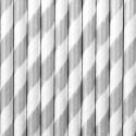 Papierowe słomki w paski