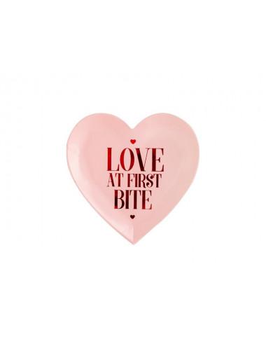 Talerzyki Walentynki - Love at first bite