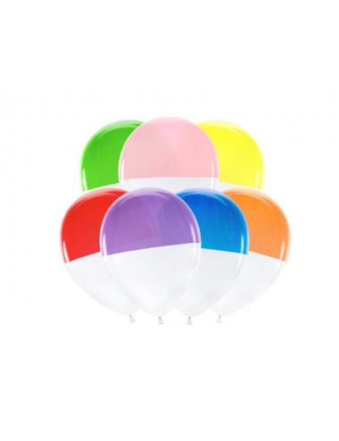 Balony dwukolorowe 30cm