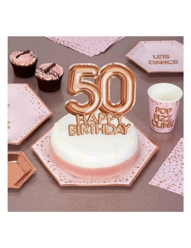 Topper na 50 urodziny