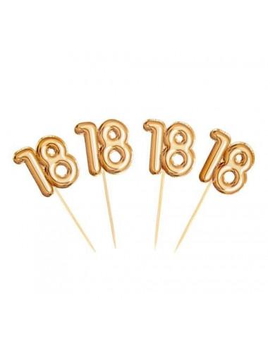 Topper na 18 urodziny