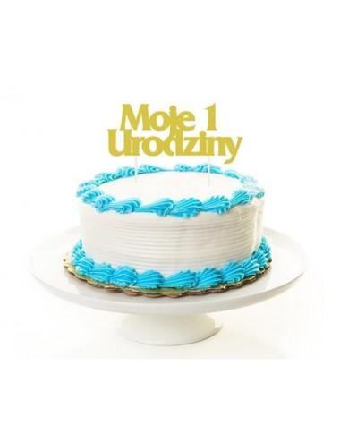 Topper Moje 1 urodziny