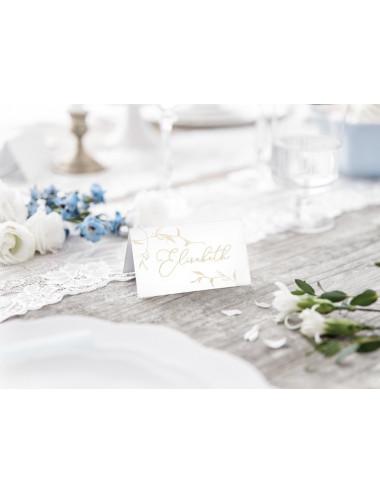 Wizytówki na stół - Liście