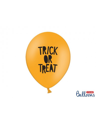 Balony Trick or Treat halloween