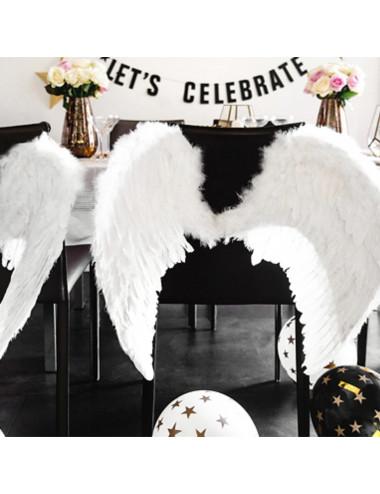 Skrzydła anioła białe