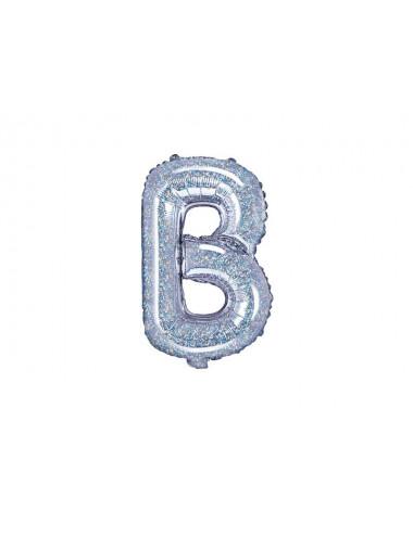Balon foliowa litera B 35cm