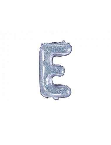 Balon foliowa litera E 35cm