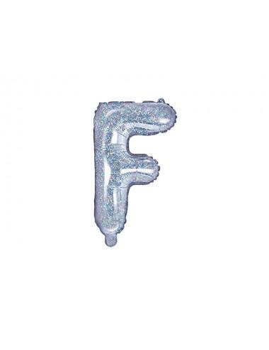 Balon foliowa litera F 35cm