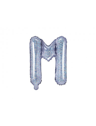 Balon foliowa litera M 35cm