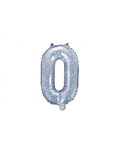 Balon foliowa litera O 35cm