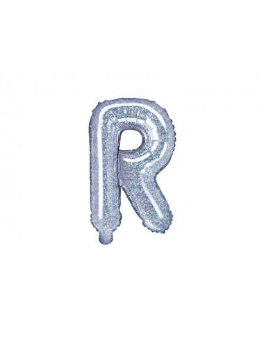 Balon foliowa litera R 35cm
