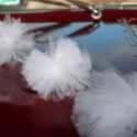 Girlanda z pomponów tiulowych