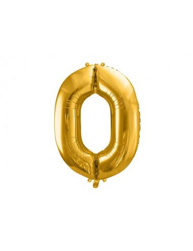 Balon foliowy cyfra 0 86cm