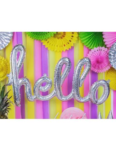 Balon foliowy napis HELLO