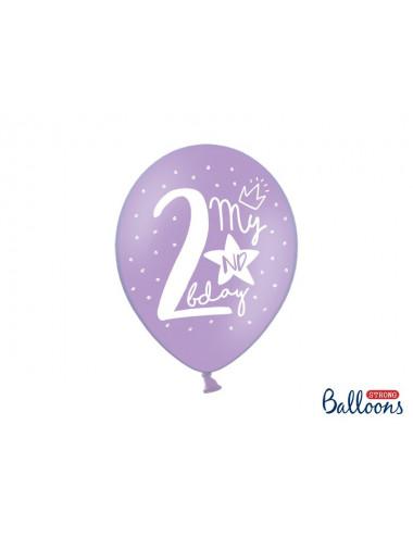 Balony pastelowe na 2 urodziny