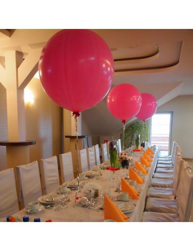 Balon gigant kula pastelowy 80 cm