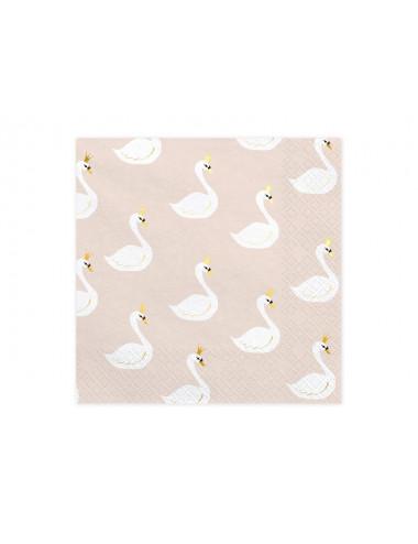 Serwetki Lovely Swan - Łabędź