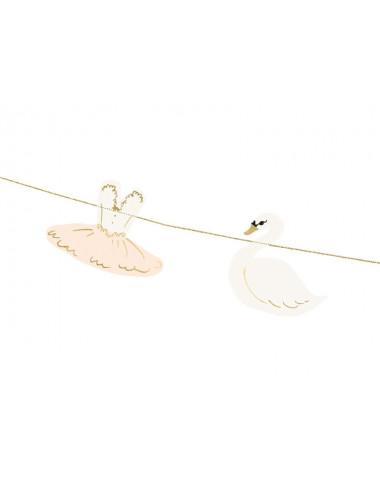 Girlanda Lovely Swan - Baletnica