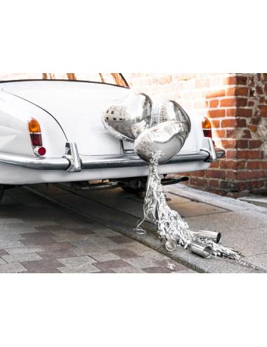 Zestaw dekoracji samochodowych - Serca