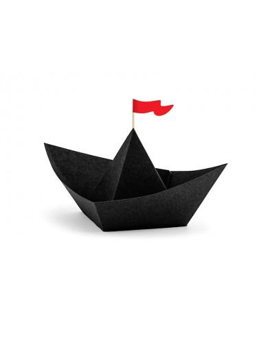 Dekoracje papierowe Piraci - Łódki