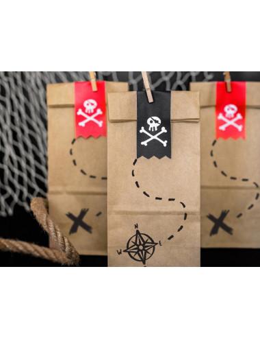 Torebki na słodycze Piraci