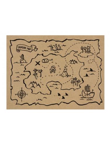 Podkładki papierowe Piraci