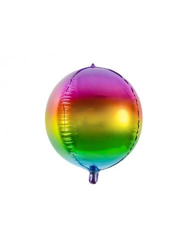 Balon foliowy Kula tęczowa