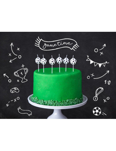 Świeczki urodzinowe Piłki