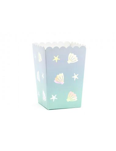 Pudełka na popcorn Narwal