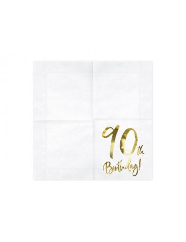 Serwetki na 90 urodziny
