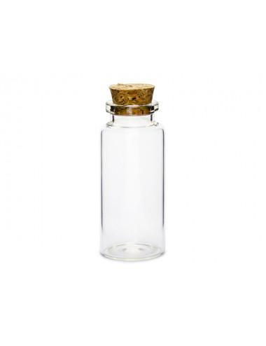 Buteleczki szklane z korkiem
