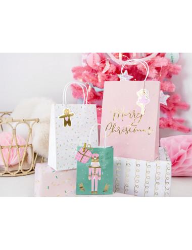 Świąteczne torebki na prezenty