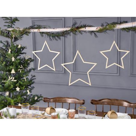 Zawieszki dekoracyjne Gwiazdy