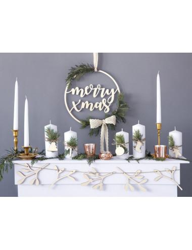 Zawieszka dekoracyjna Merry Xmas