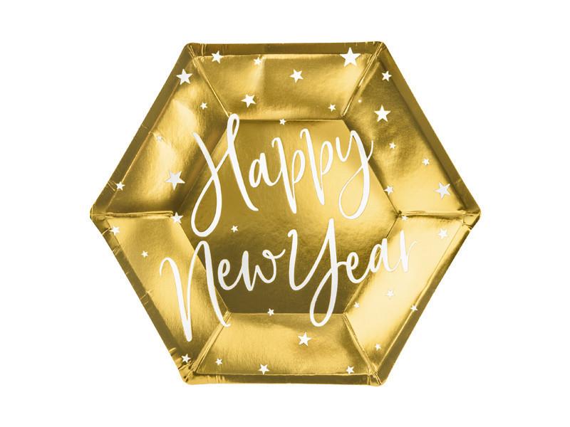 Talerzyki Happy New Year