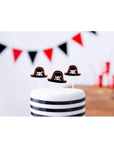 Świeczki urodzinowe Piraci