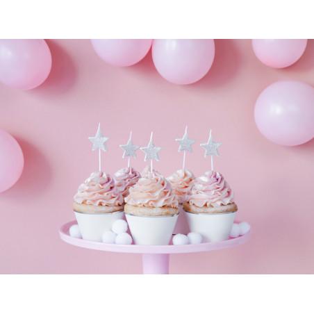 Świeczki urodzinowe Gwiazdki