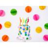 Świeczki urodzinowe zakręcone