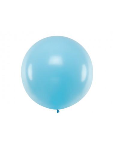 Balon okrągły  1 m - pastelowy