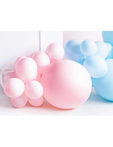 Balon okrągły - pastelowy