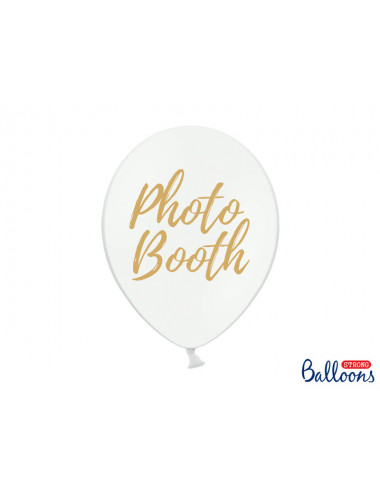 Balony: Candy Bar, Chill, Dance Floor, Drinks, Photo Booth, Pastel Pure White