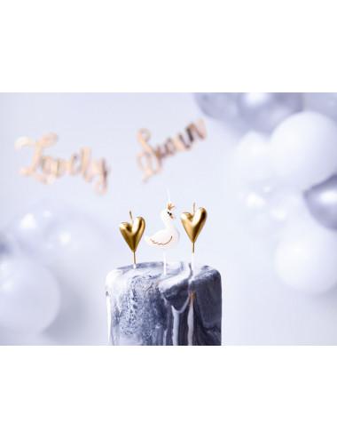 Świeczki urodzinowe Lovely Swan