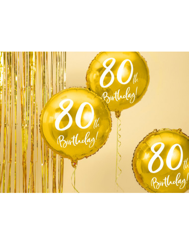 Balon foliowy 90th Birthday