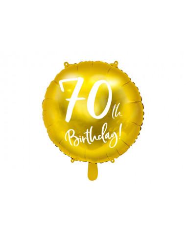 Balon foliowy 70th Birthday