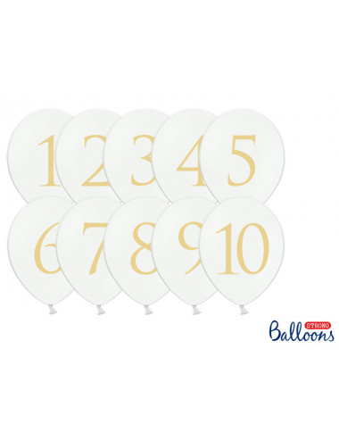 Balony - Cyfry